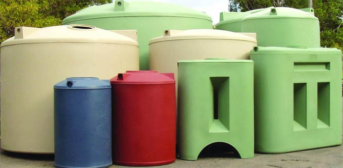 Advantages of Above Ground Polyethylene Water Tanks