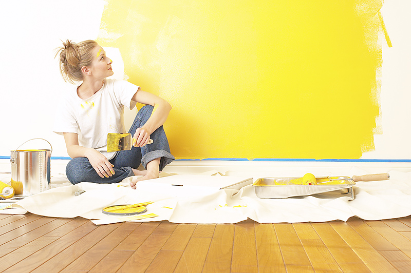 10 Things To Consider For Painting The Entire Home All By Yourself