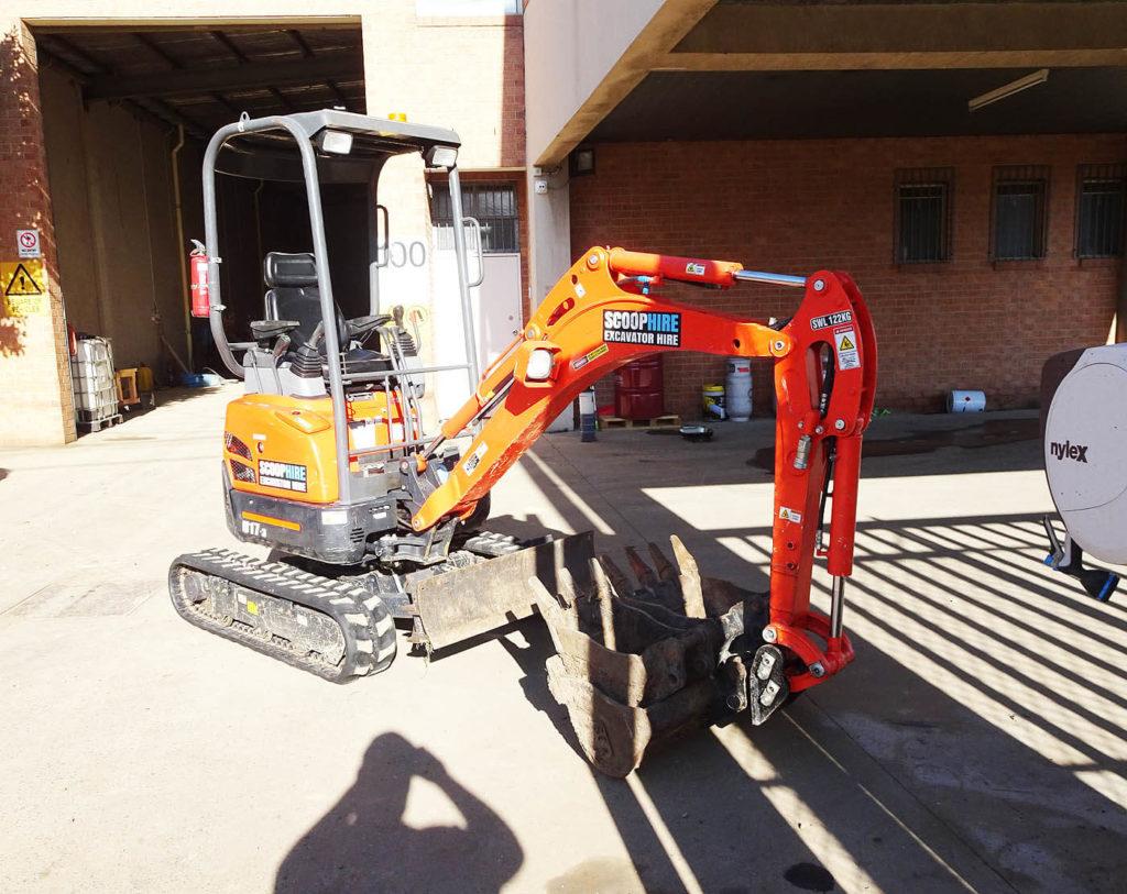 5 tonne excavators
